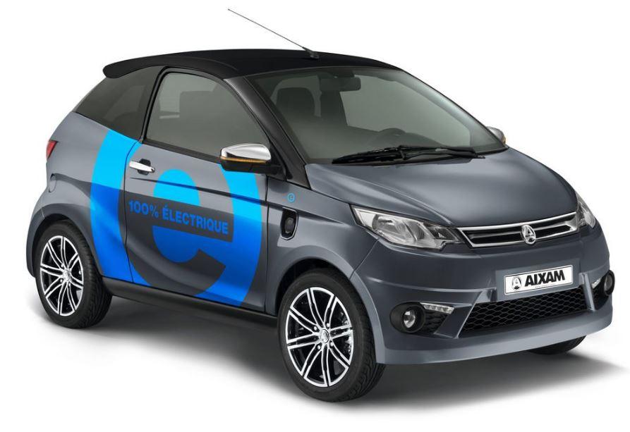 Aixam. Los coches 100% eléctricos sin carné llegan a España