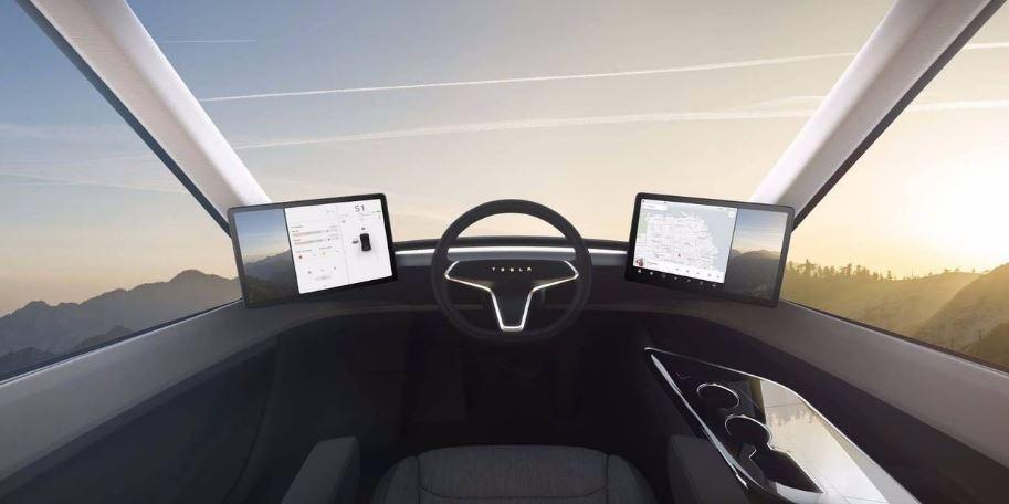 El camión eléctrico de Elon Musk llamado como Tesla Semi