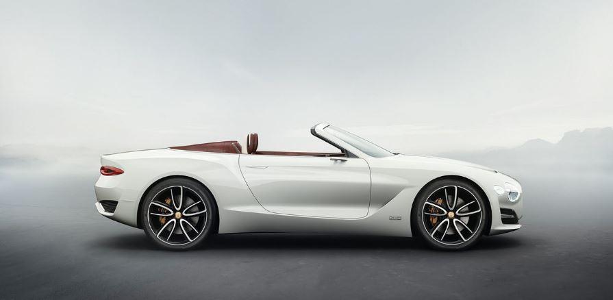 Bentley EXP 12 Speed 6e. Roadster, lujoso y eléctrico